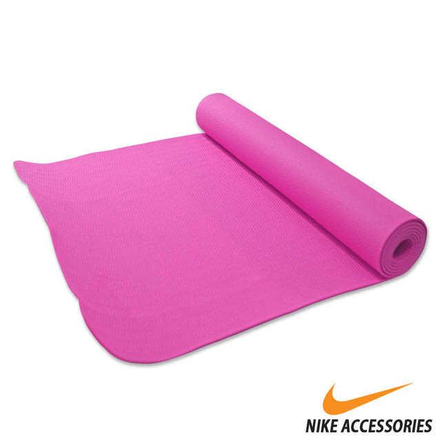 【有閑運動】NIKE 瑜珈墊(3mm)(紫紅)