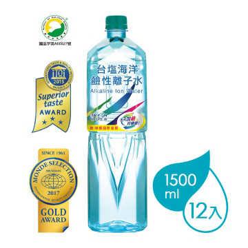 台鹽海洋鹼性離子水 (1500mlx12瓶)