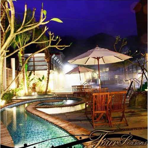 【礁溪】冠翔世紀溫泉會館 , 戶外風呂SPA (設備含 : 裸湯 + 溫泉魚)