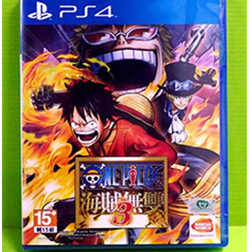 PS4 海賊無雙3 航海王 中文版