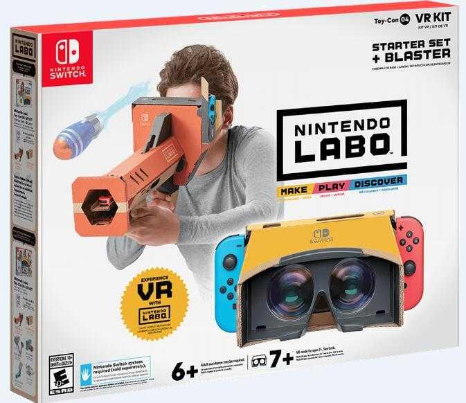 預購2019/4/12 中文版)NS 任天堂實驗室 LABO Toy-Con 04 Starte套裝