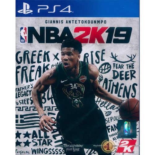 (實體版) PS4 美國職業籃球 NBA 2K19 亞版中文版 一般版