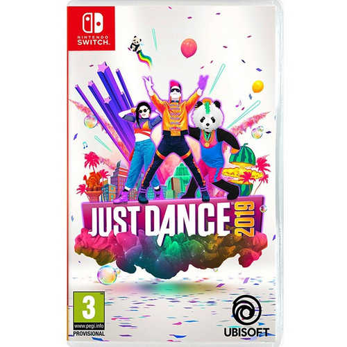 (中文版)NS Switch 舞力全開 Just Dance 2019