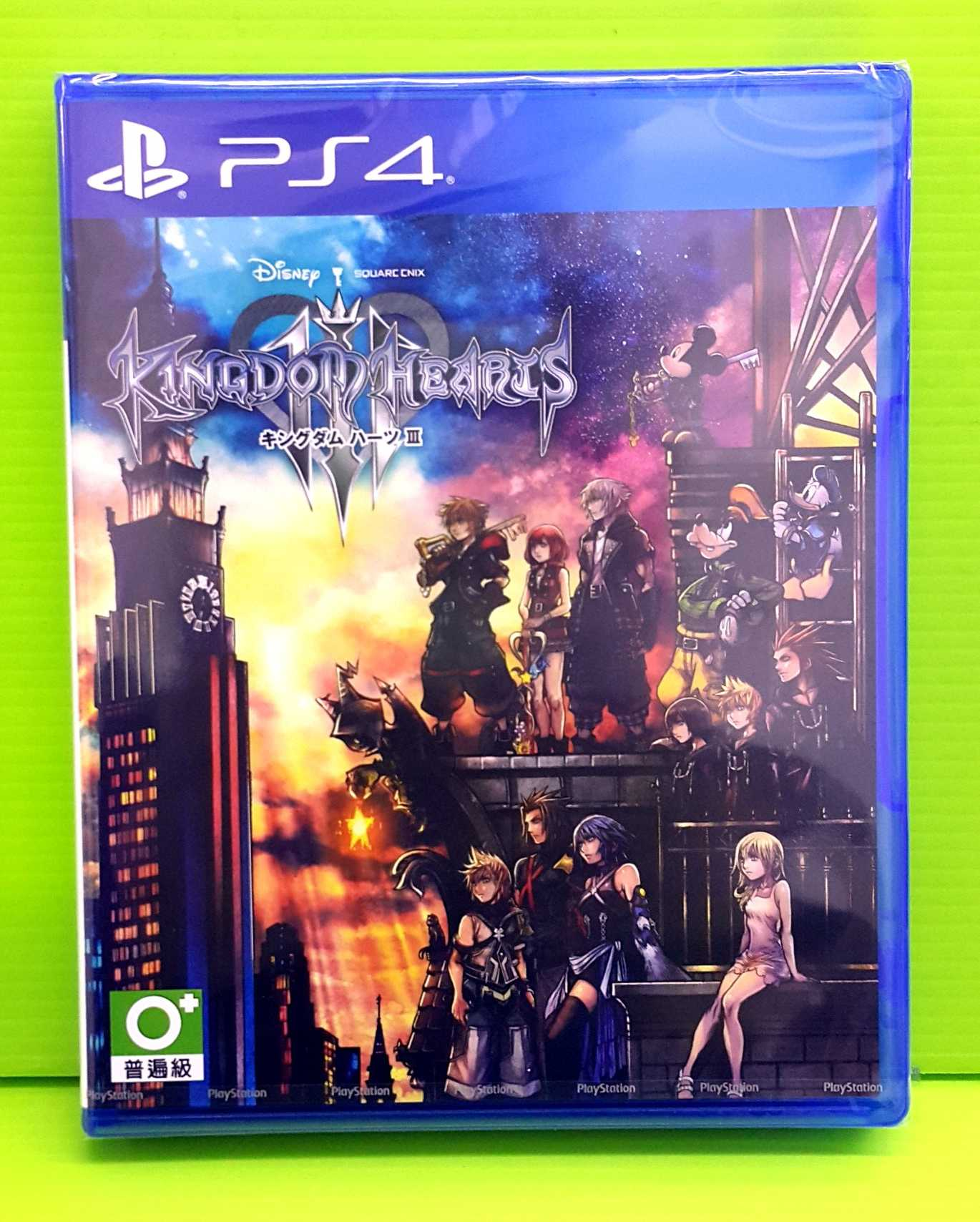 現貨含特典 PS4 王國之心 3 亞版 日文版