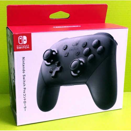 (現貨)任天堂 Nintendo Switch PRO NS pro 手把 控制器 黑色(公司貨)