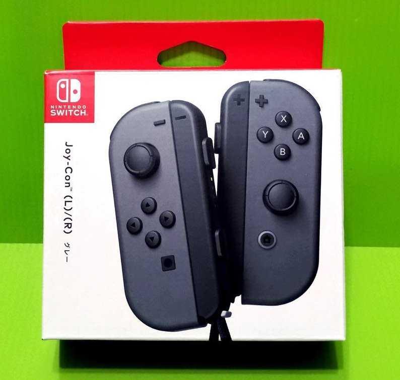 任天堂Nintendo Switch Joy-Con (灰色)原廠左右手把