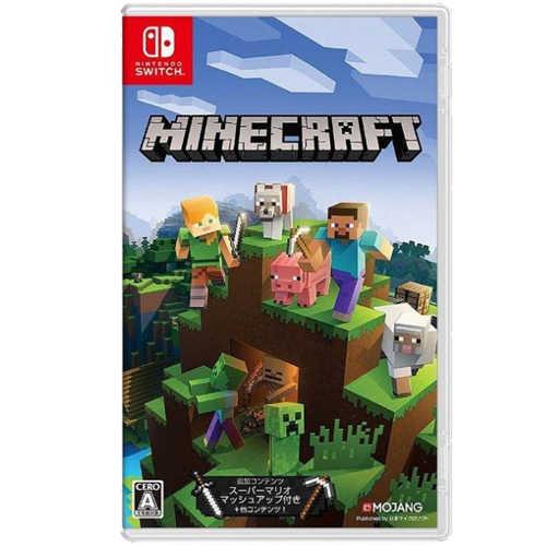 NS Switch 我的世界 創世神 Minecraft 歐版 中文版