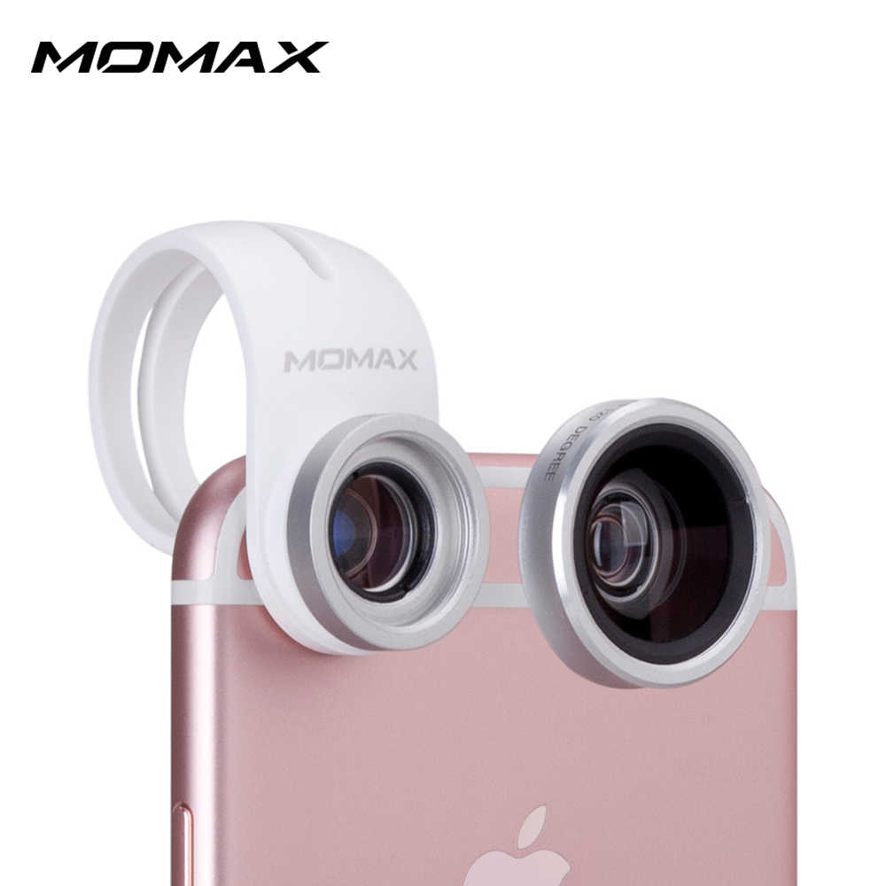 MOMAX 廣角微距二合一手機鏡頭
