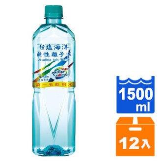 台鹽 海洋鹼性離子水 1500ml (12入)/箱
