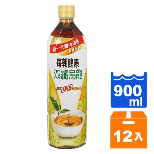 御茶園 每朝健康 雙纖烏龍茶 900ml (12入)/箱