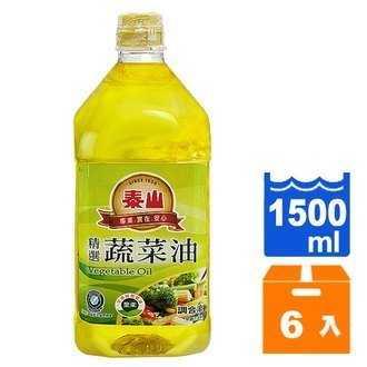泰山 精選蔬菜油 1.5L (6入)/箱