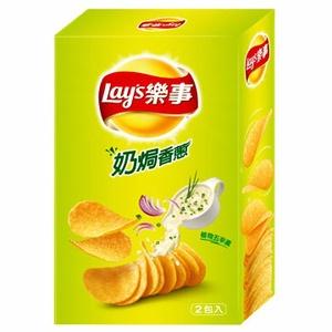 Lay's 樂事 新經濟包奶焗香蔥味洋芋片 96g