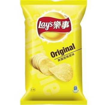Lay's 樂事 美國經典原味 洋芋片 75g (12入)/箱