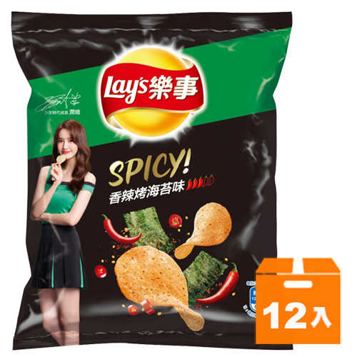 樂事香辣烤海苔*12入