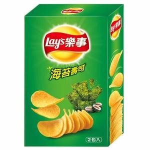 Lay's 樂事 新經濟包海苔壽司味洋芋片 96g