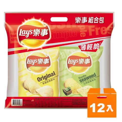 Lay's 樂事 組合包(4包入) 172g (12入)/箱
