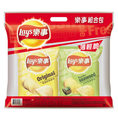 Lay's 樂事 組合包(4包入) 172g/袋