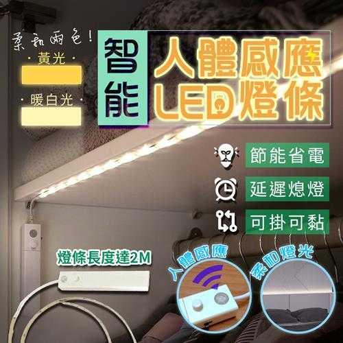 自動感應2米LED防水燈條