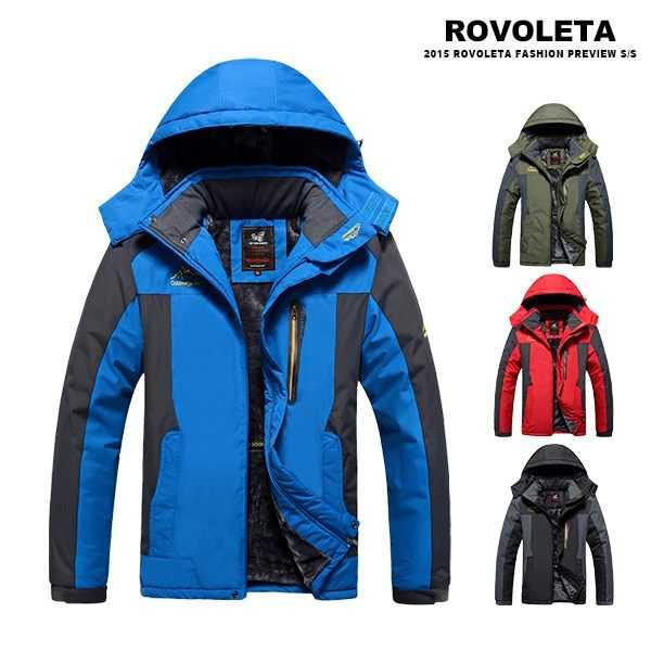 【ROVOLETA】保暖加厚衝鋒衣外套(SYN-F828)