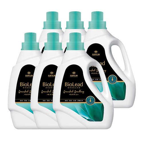 《台塑生醫》BioLead經典香氛洗衣精 璀璨時光2kg(6瓶入)