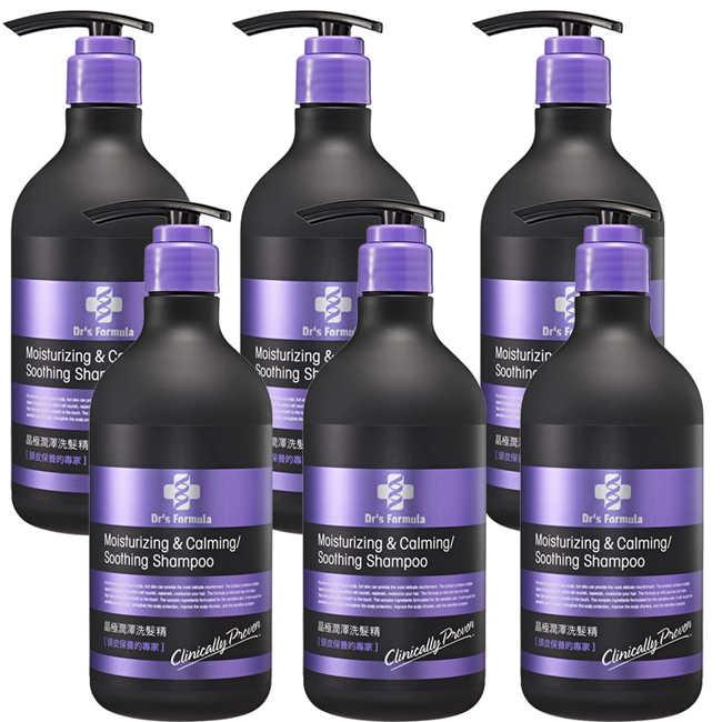 即期品《台塑生醫》Dr's Formula晶極潤澤洗髮精580g*6入(效期到2020/01)
