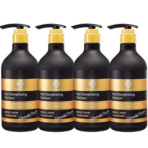 《台塑生醫》Dr's Formula髮根強化洗髮精(580g*4入)+植簡系列洗沐12g*5包