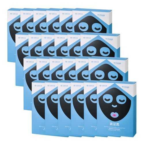 《台塑生醫》Dr's Formula極潤緊俏水娃娃黑面膜(7片/盒)*24盒入