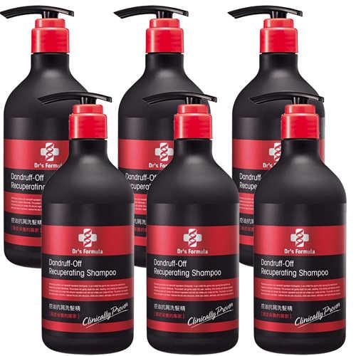 《台塑生醫》Dr's Formula控油抗屑洗髮精(580g*6入)+油你真好35ml*1入