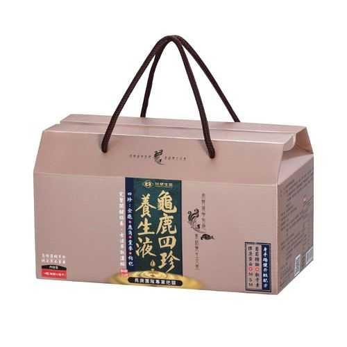 [贈B群]【台塑生醫】龜鹿四珍養生液(50ml*14瓶/盒)