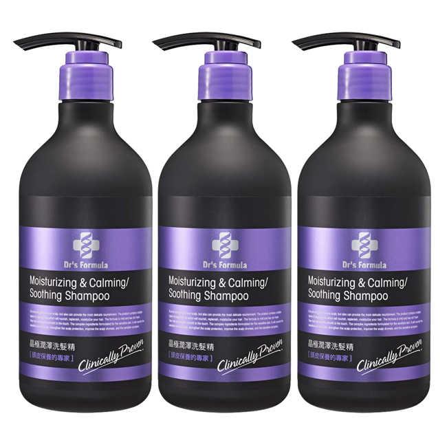 即期品《台塑生醫》Dr's Formula晶極潤澤洗髮精580g*3入(效期到2020/01)