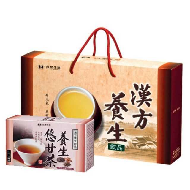 【台塑生醫】養生悠甘茶禮盒(30包/盒)4盒入