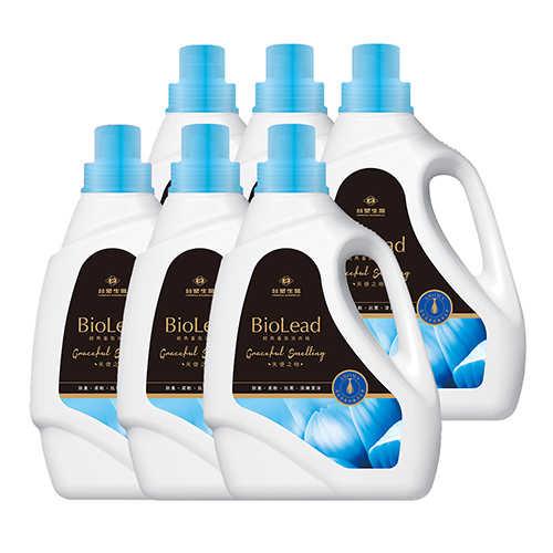 《台塑生醫》BioLead經典香氛洗衣精 天使之吻 2kg(6瓶入)