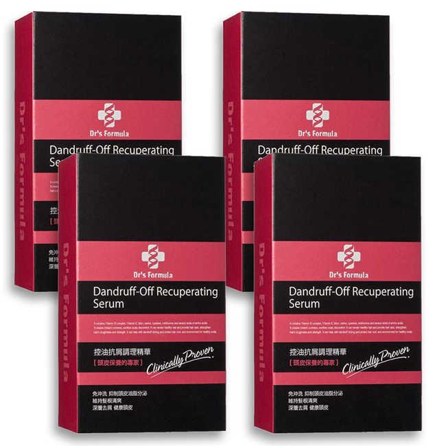 即期品《台塑生醫》Dr's Formula控油抗屑調理精華(70g*4入)(效期到:2020年5月)