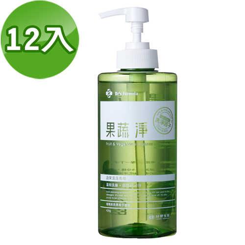 《台塑生醫》Dr's Formula果蔬淨420g(12瓶/組)