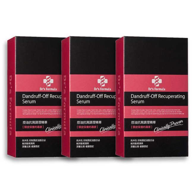 即期品《台塑生醫》Dr's Formula控油抗屑調理精華(70g*3入)(效期到:2020年5月)