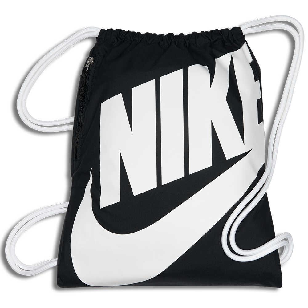 NIKE SPORTSWEAR 束口袋 背包 後背包 休閒 黑 【運動世界】 BA5351-011