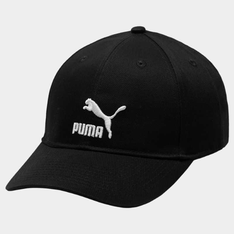 Puma ARCHIVE Logo 帽子 老帽 棉質 刺繡LOGO 黑【運動世界】 02204801