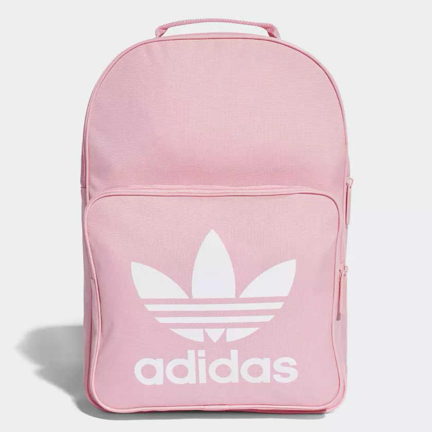 Adidas ORIGINALS TREFOIL 背包 後背包 休閒 粉【運動世界】DJ2173