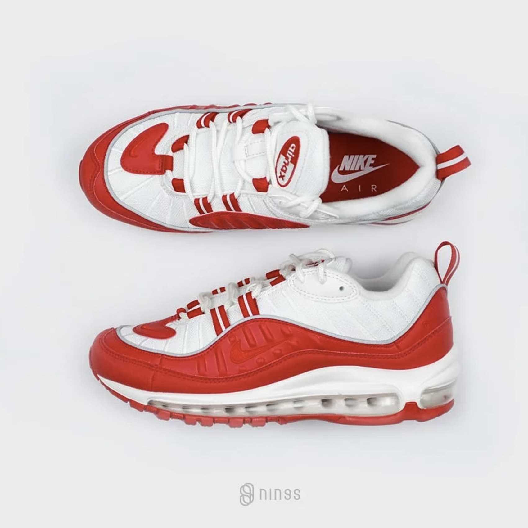 【有閑運動】NIKE AIR MAX 98 RED