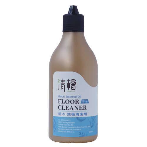 【清檜Hinoki Life】檜木柑橘地板清潔劑500ml/瓶