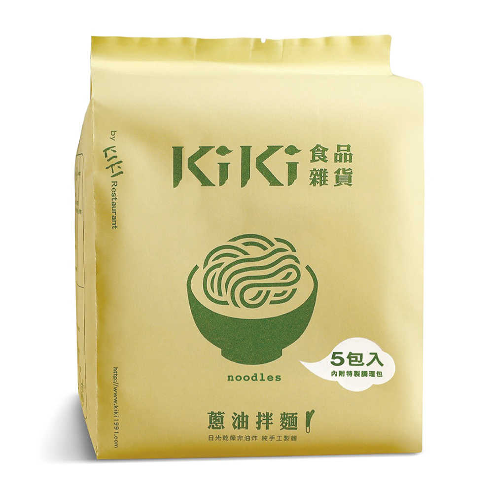 KiKi蔥油拌麵(5包)