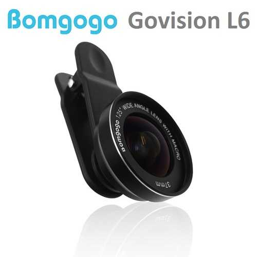【Bomgogo】 Govision L6 極輕量手機廣角微距鏡頭組 (公司貨)