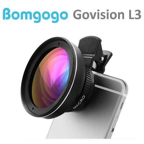 【Bomgogo】Govision L3 超廣角微距手機大鏡頭