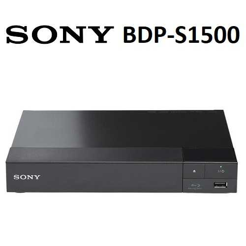 SONY BDP-S1500 藍光DVD播放器 (公司貨)