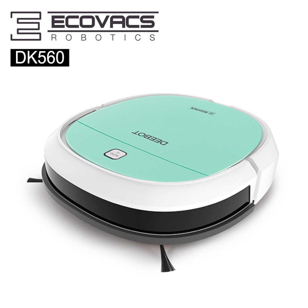 推薦👍🏻【ECOVACS】美型迷你全能機種清潔機器人DK560(蒂芬妮綠)
