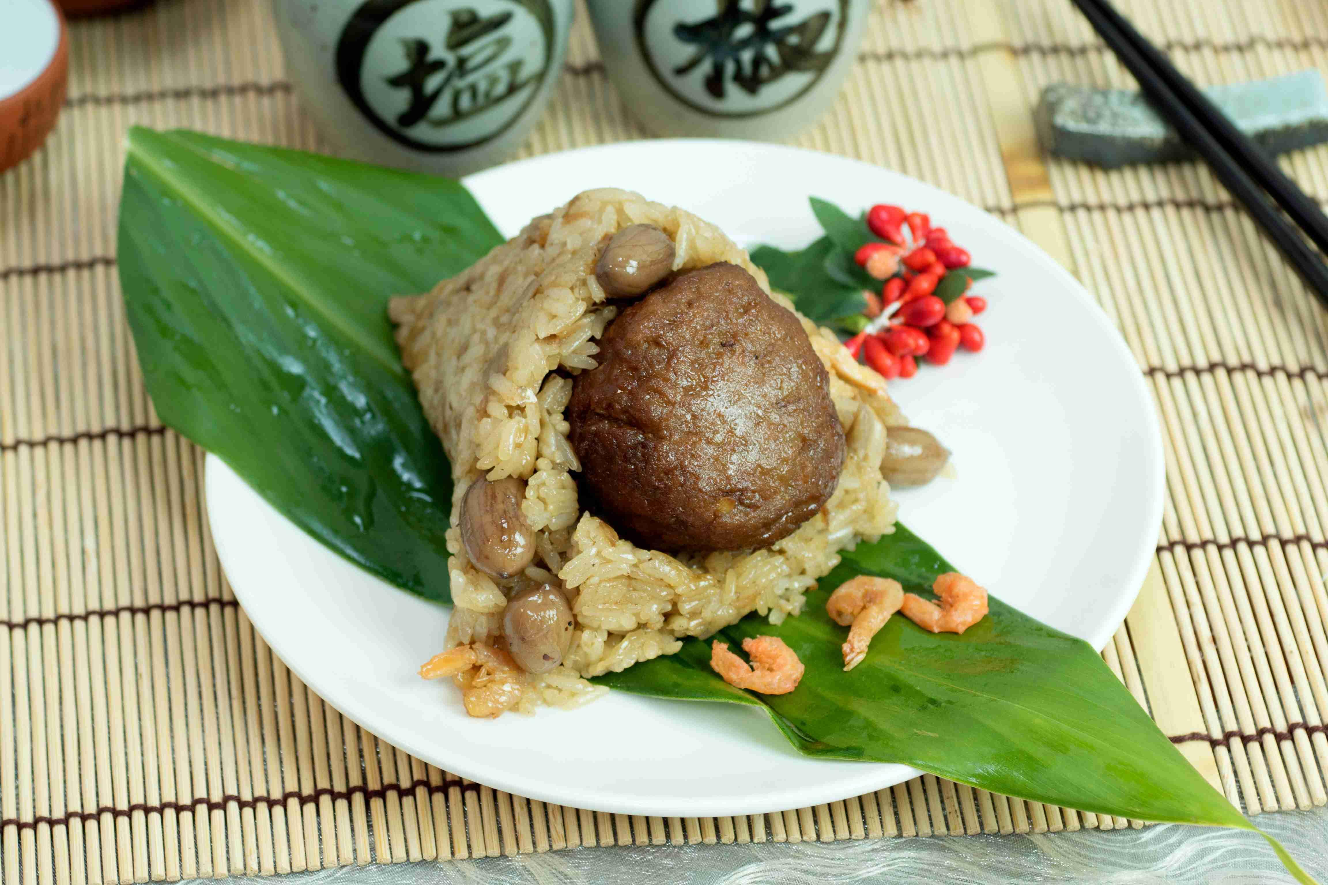 【大嬸婆】獅子頭鮮肉粽子6顆組(150公克/顆)