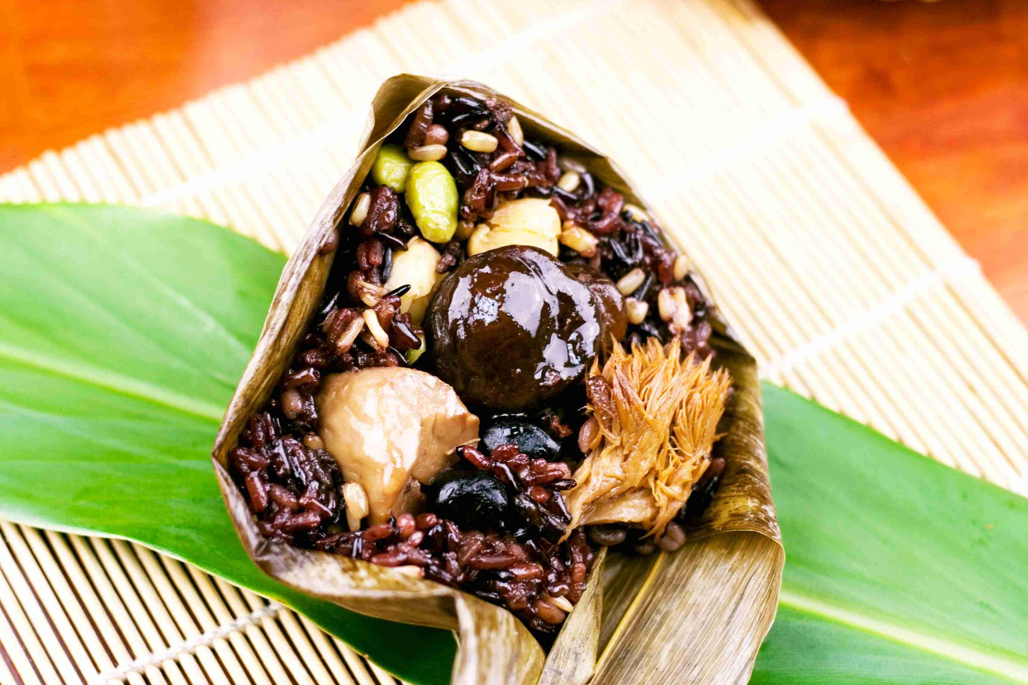 【大嬸婆】珍穀菇菇素粽子5顆組(180公克/顆)