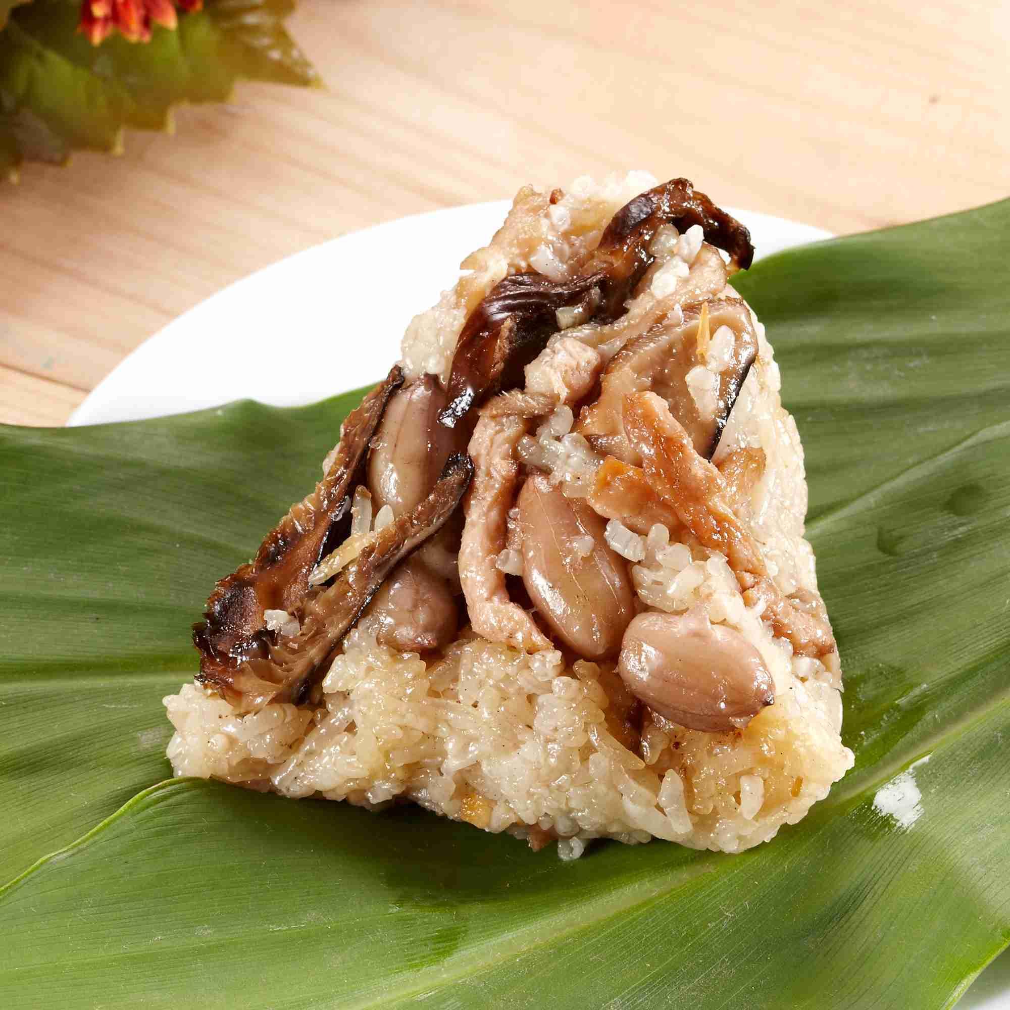 【大嬸婆】正宗野薑花素粽子10顆組(85公克/顆)