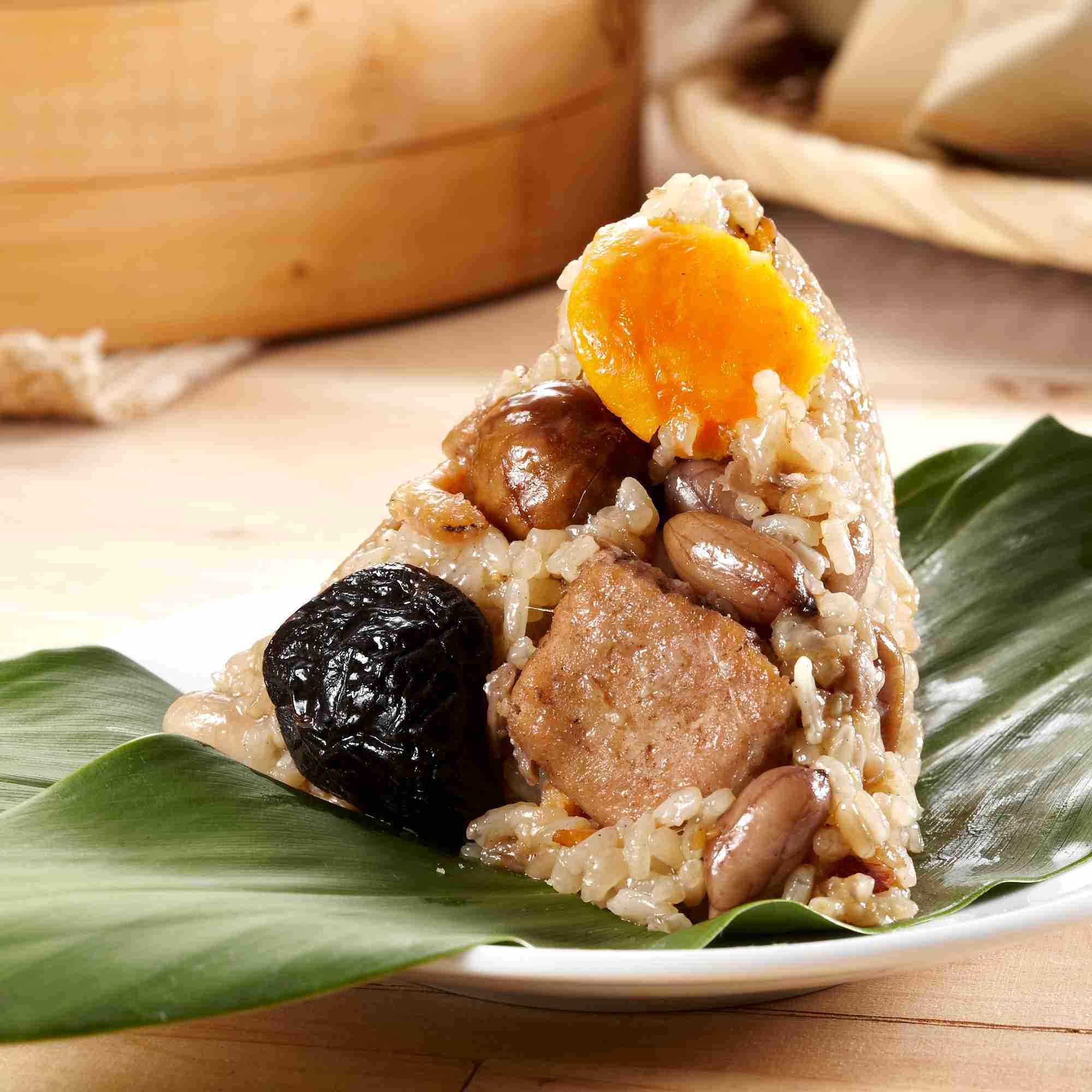 【大嬸婆】傳家寶南部肉粽子5顆組(180公克/顆)