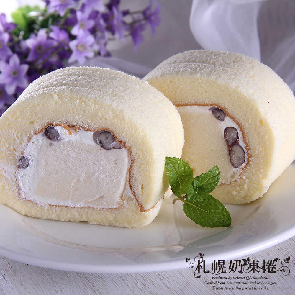 札幌奶凍捲 紅豆奶凍捲1條